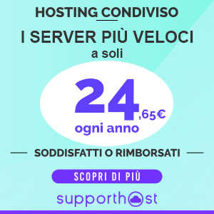 Hosting Supporthost.it